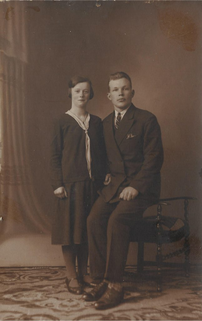 Harm Korblet en Wicherdina-Johanna Pullen